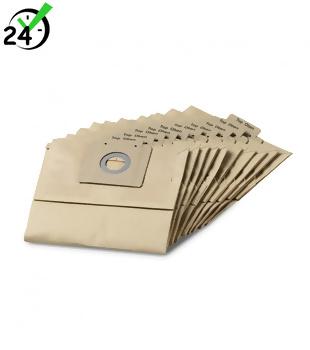Worki papierowe (10szt) do T 12/1, Karcher