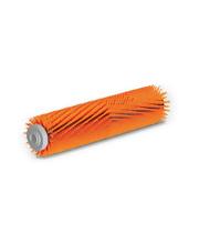 Szczotka walcowa wysoka-niska z włosiem średnio twardym, pomarańczowa, 300 mm Karcher