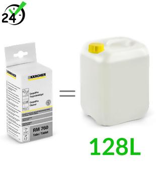 RM 760 (16szt) Carpet PRO środek czyszczący w tabletkach, Karcher