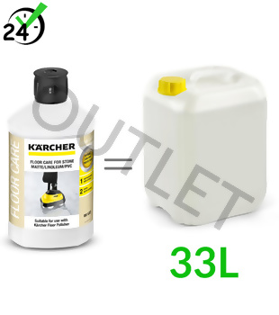 RM 532 (1L, rozcieńczanie 3%) środek do pielęgnacji posadzek matowych, linoleum, PCV, Karcher - OUTLET
