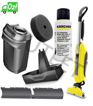 FC 5 mop elektryczny (300mm, 60m2/h) Karcher - OUTLET