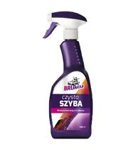Brumm - czysta szyba, płyn do czyszczenia szyb, reflektorów i lusterek (500ml)