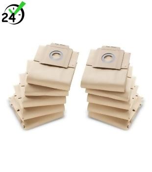 Worki papierowe (10szt) do T 7/1 - T 10/1, Karcher