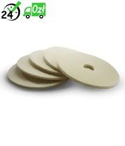 Pady tarczowe (5szt, 508mm, białe, bardzo miękkie) do B/BDBDP/BDS, Karcher