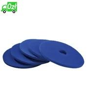 Pady tarczowe, niebieskie, 432 mm