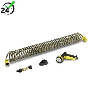 Zestaw z wężem spiralnym dł. 10m Karcher