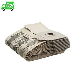 Worki papierowe (wzmocnione, 300szt) do CV 30/1 - CV 48/2, Karcher