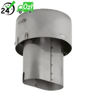 Króciec wylotowy spalin (200mm) do HDS, Karcher