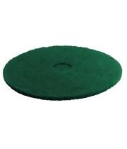Pady tarczowe do usuwania uporczywych zabrudzeń, zielone, 280 mm, 5 sztuk