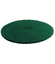 Pady tarczowe do usuwania uporczywych zabrudzeń, zielone, 356 mm, 5 sztuk