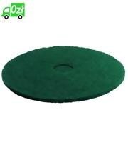 Pady tarczowe do usuwania uporczywych zabrudzeń, zielone, 508 mm, 5 sztuk