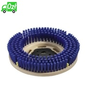 Szczotka tarczowa do czyszczenia zasadniczego, niebieska, średnica 508 mm