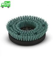 Twarda szczotka do czyszczenia zasadniczego, zielona, średnica 170 mm