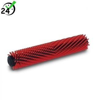 Uniwersalna szczotka walcowa z włosiem średnio twardym, czerwona, 300 mm Karcher