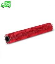 Uniwersalna szczotka walcowa z włosiem średnio twardym, czerwona, 638 mm Karcher
