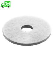Pady diamentowe, grube, białe, średnica 160 mm, 5 sztuk